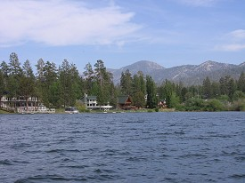 Big Bear Lake, California USA